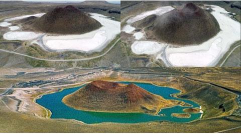 İklim Krizi Nedeniyle Göllerin Gördüğü Zarar Büyük