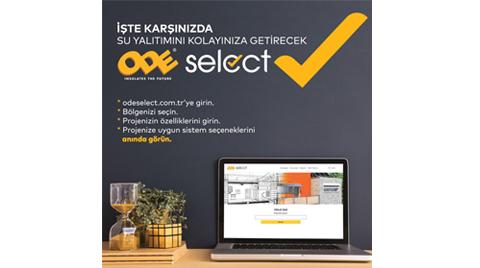 ODE Yalıtım'dan ODE Select