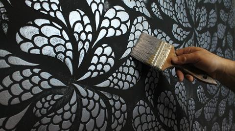 San Deco'dan Stencil Serisi