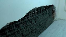 Kentsel Dönüşüm - İnşaata Dökülen Beton, Bitişik Binanın Duvarını Yıktı