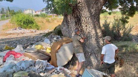 Ormanlık Alandan 25 Kamyon Çöp Çıktı