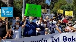 Karaburun'da Büyük RES Protestosu