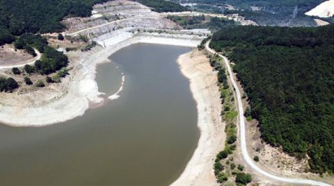 İstanbul'a Su Veren Trakya'daki Barajlar Kurudu