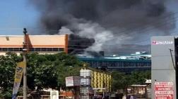 Ödemiş Devlet Hastanesi'nde Yangın