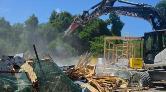 Terkos Gölü'nün Kenarındaki Kaçak Yapılar Yıkılıyor