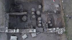 Amorium Antik Kenti'nde Bizans'tan Kalma Tahıl Ambarı Bulundu