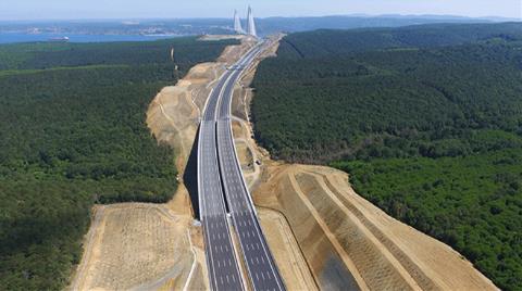 Otoyol İhalesiyle Kanal İstanbul'un Yolları da Yapılacak