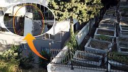Mezarlık Duvarı Binaya Doğu Kayıyor