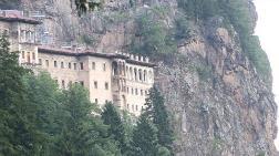 Sümela Manastırı'ndaki Tahribata İlişkin Açıklama