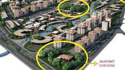 Yeşil Alan Yerine Otel ve Akaryakıt İstasyonu Yapıldı