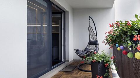 Balkonlarda Filli Boya Renk Etkisi