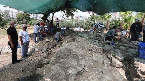 Aratos'un Anıt Mezarında İç Duvara Ulaşıldı