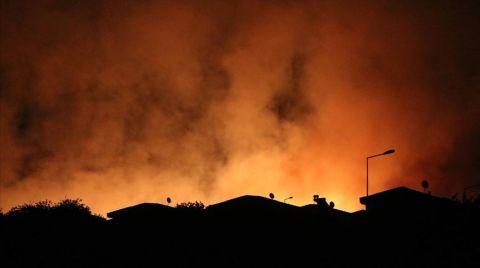 Çeşme'deki Yangın Kontrol Altına Alındı