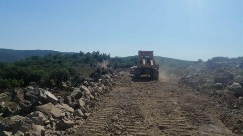Germiyan'da RES Çalışmaları Durduruldu