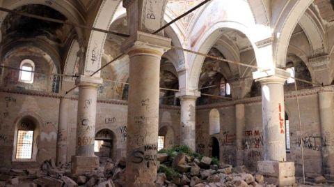 Definecilerin Tahrip Ettiği Kilise Restore Edilecek