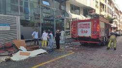Gaziosmanpaşa'da Hastanenin Tavanı Çöktü