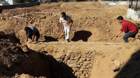 Aydın'da İnşaat Kazısında Sur Duvarı Bulundu