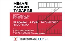 SMGM E-Semineri: Mimari Yangın Tasarımı