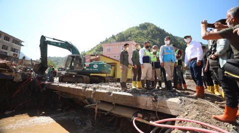 Giresun'da İçme Suyu Hattı Çalışmaları Devam Ediyor