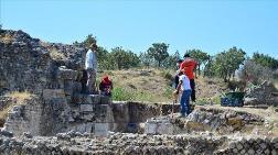 Alexandria Troas Kazısında Toprak Altının Röntgeni Çekiliyor
