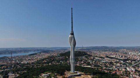 Çamlıca TV Kulesi Eylülde Faaliyete Geçecek