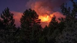 Kastamonu'da Alevler Köylere Yaklaştı