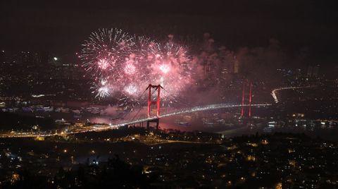 Kadıköy'de Havai Fişek Yasaklandı