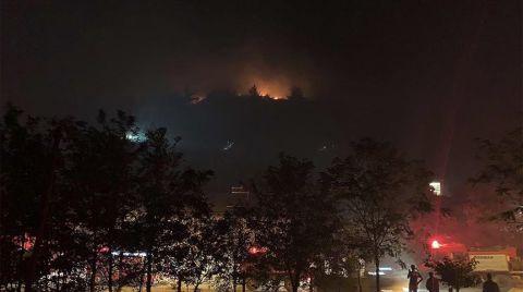 Manisa'da Yangın Nedeniyle Bir Mahalle Tahliye Edildi