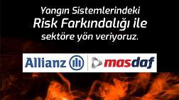 Masdaf ve Allianz Teknik'ten Sigortacılıkta Yangın Sistemleri