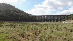Alibeyköy Barajı'nda Korkutan Görüntü