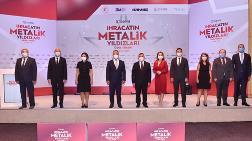 İhracatın 'Metalik Yıldızları' Ödüllerini Aldı