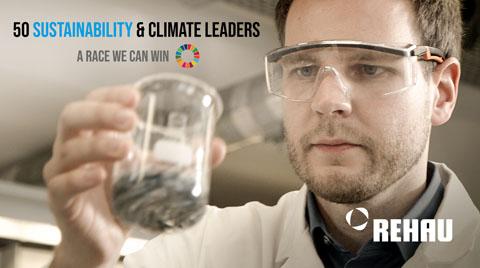 """REHAU """"Sürdürülebilirlik ve İklim Liderliğindeki 50 Şirket""""ten Biri Oldu"""