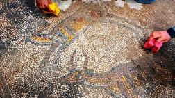 Tarihi Kiliseye Ait Mozaikler Gün Yüzüne Çıkarılıyor