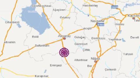 Aksaray'da 4.4 Büyüklüğünde Deprem