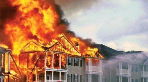 """""""Yangına Karşı Güvenli Yapı Bilinciyle Hareket Etmeliyiz"""""""