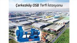 Çerkezköy OSB Terfi İstasyonu'nun Tercihi Masdaf Oldu