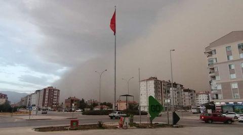 Konya'da Toz Fırtınası