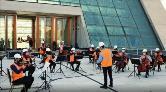 CSO Binasının Yapımında Çalışan İşçilere Teşekkür Konseri