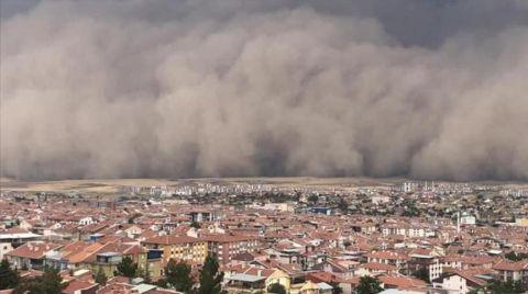 Toz Fırtınalarının Nedeni Çölleşme ve Erozyon