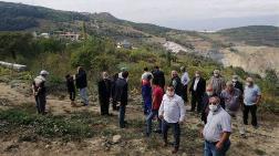 Sakarya'da Taş Ocağı Köyü Yutuyor