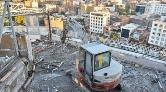 Diyarbakır'ın İlk Gökdeleni'nin Yıkımına Başlandı