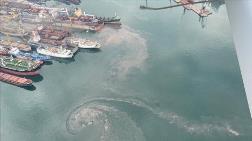 Denizi Kirleten Gemiye 1,3 Milyon Lira Ceza Kesildi