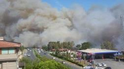 Hatay'daki Orman Yangını, Yerleşim Yerlerine Yaklaştı