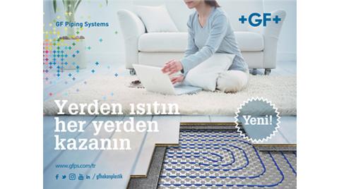 GF Hakan Plastik Yerden Isıtma Sistemi