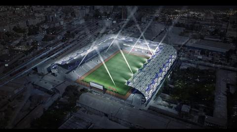 İzmir'in Tarihi Stadyumu E.C.A ile İklimlendiriliyor