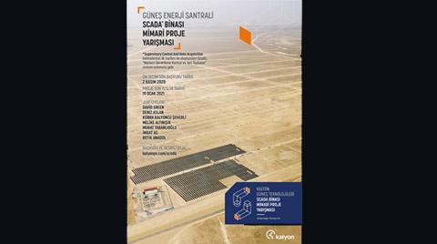 Karapınar GES SCADA Mimari Proje Yarışması