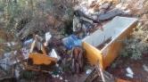 Bursa'da Ormanlık Alana Moloz Döküldü