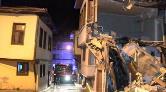 Bursa'da 100 Yıllık Bina Çöktü
