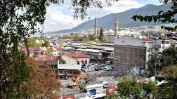 Ulu Cami Çevresindeki Eski Yapılar Yıkılıyor