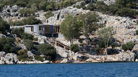 Üçağız Yarımadası'ndaki Villa İnşaatına Tepki